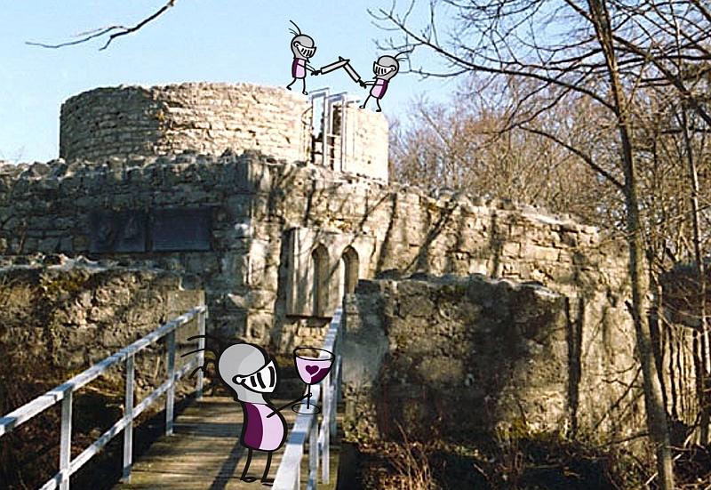 Burg mit Ritterli